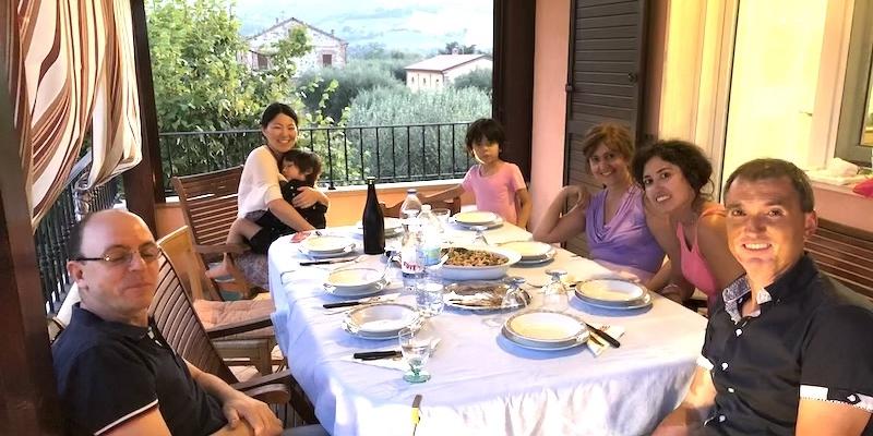 リミニで行うロマーニャ地方伝統家庭料理体験コース